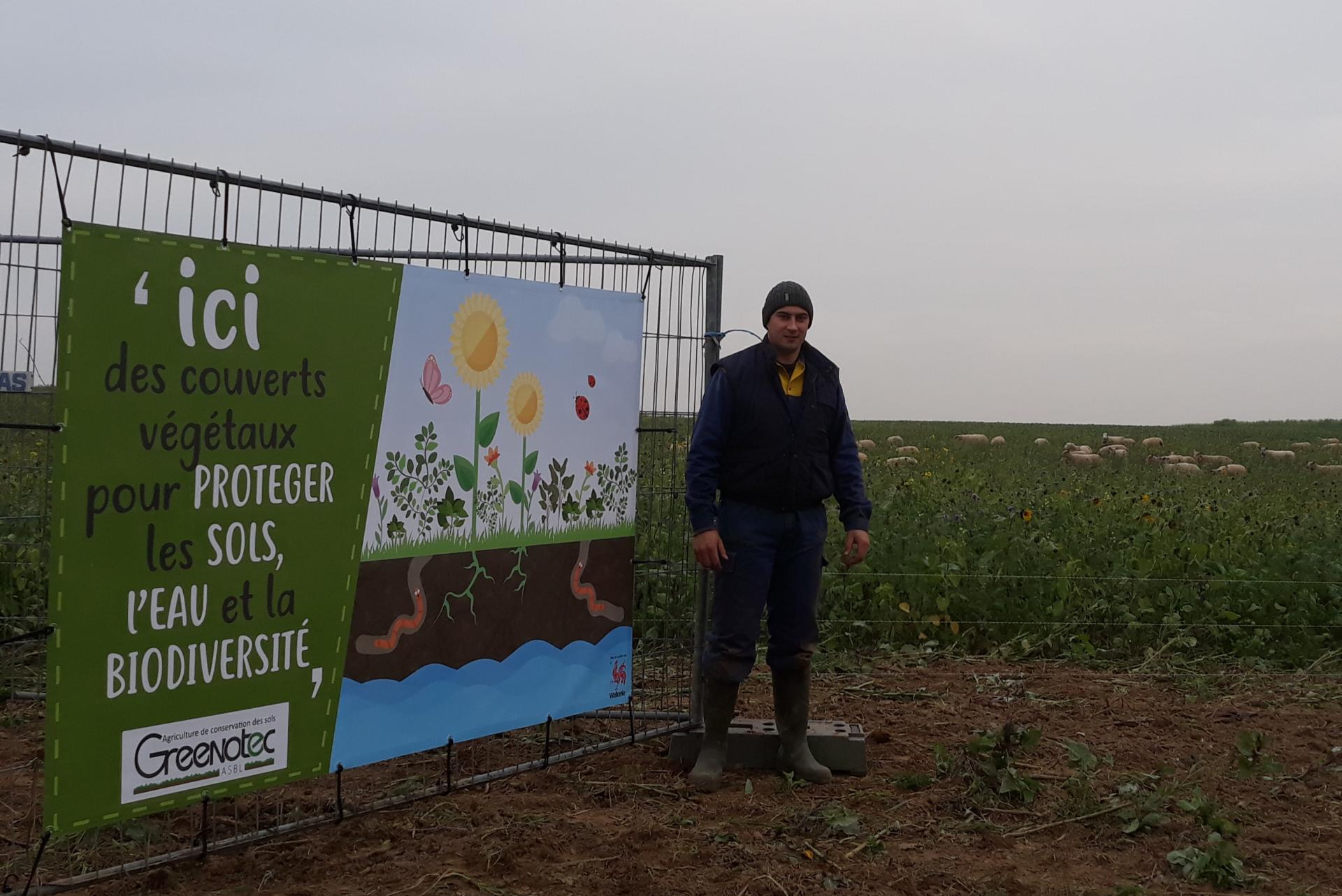 Affiche couvert végétaux