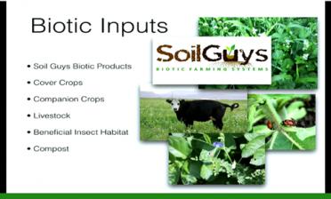 Biotic inputs