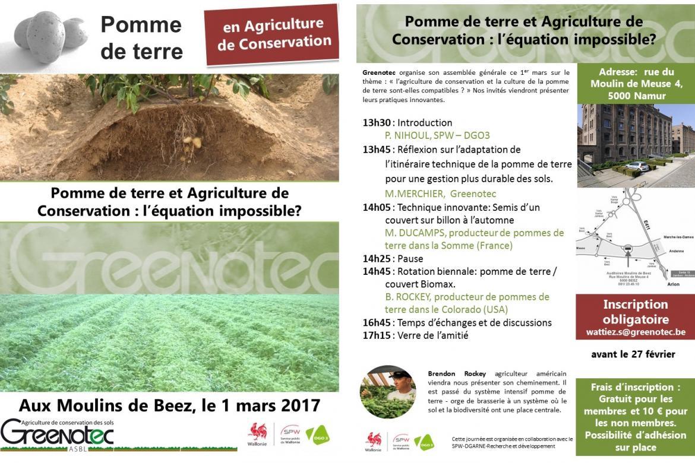 Invitation greenotec 1 mars