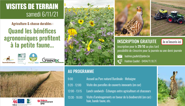 Invitation visite agro faune